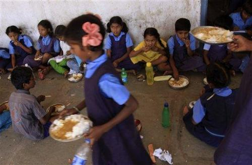 School Lunch: Feeding India's massive student population